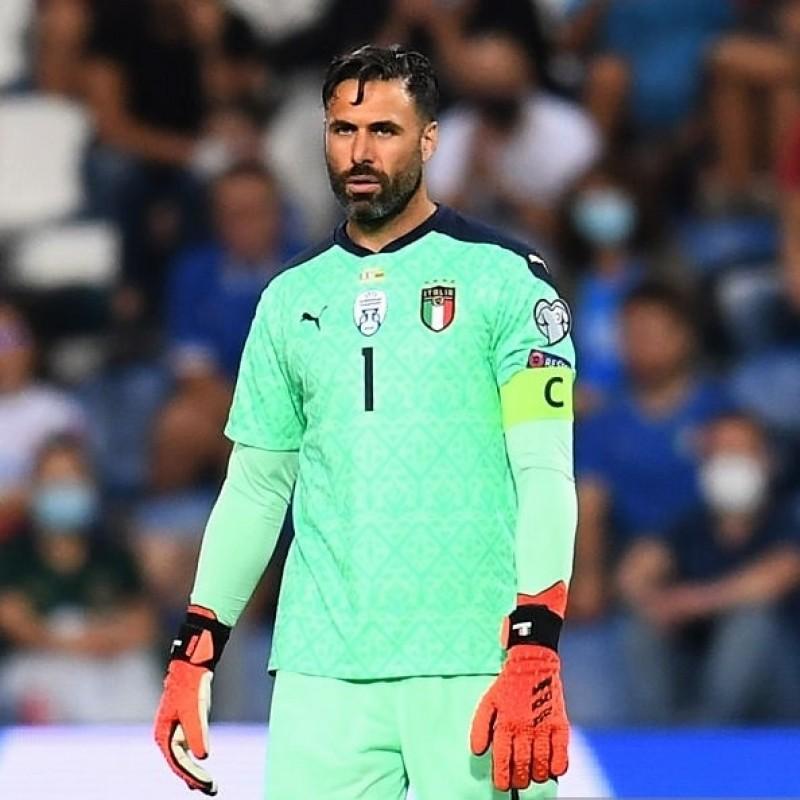 Sirigu's Match Shirt, Italy-Lithuania 2021