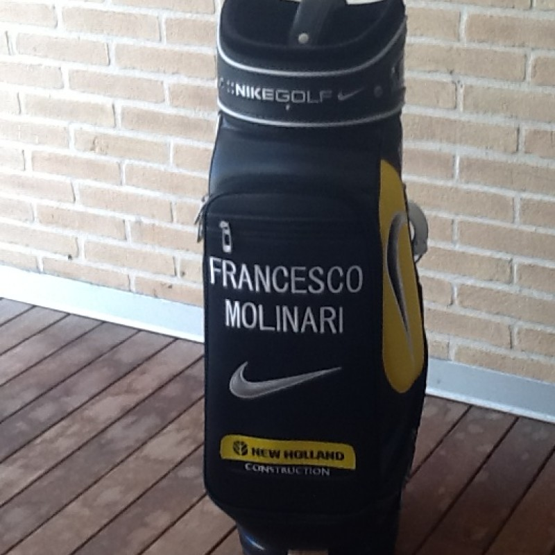 The golf bag of Francesco Molinari