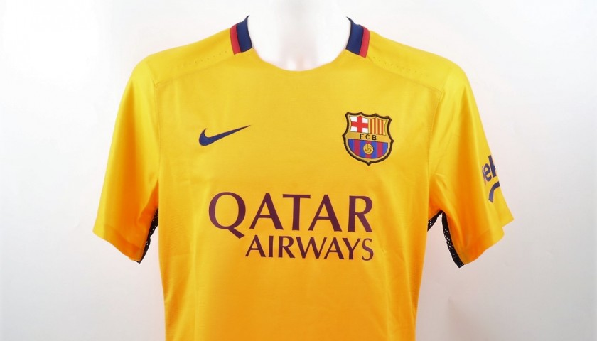 info for 9a8c0 89f88 Messi Match-Issued/Worn Shirt, LFP 2015/16 - CharityStars