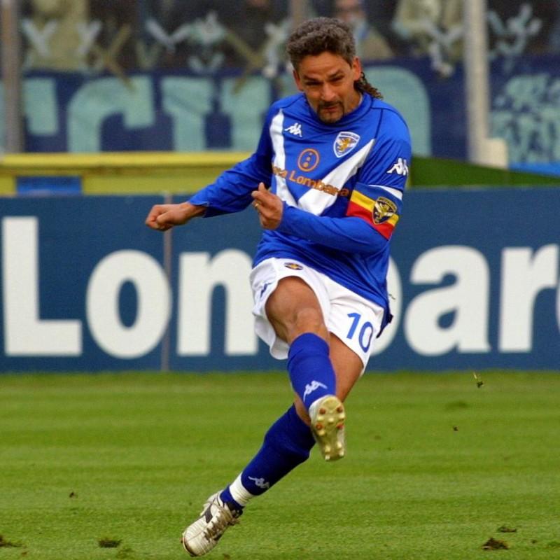 Baggio's Official Brescia Signed Shirt, 2005/06