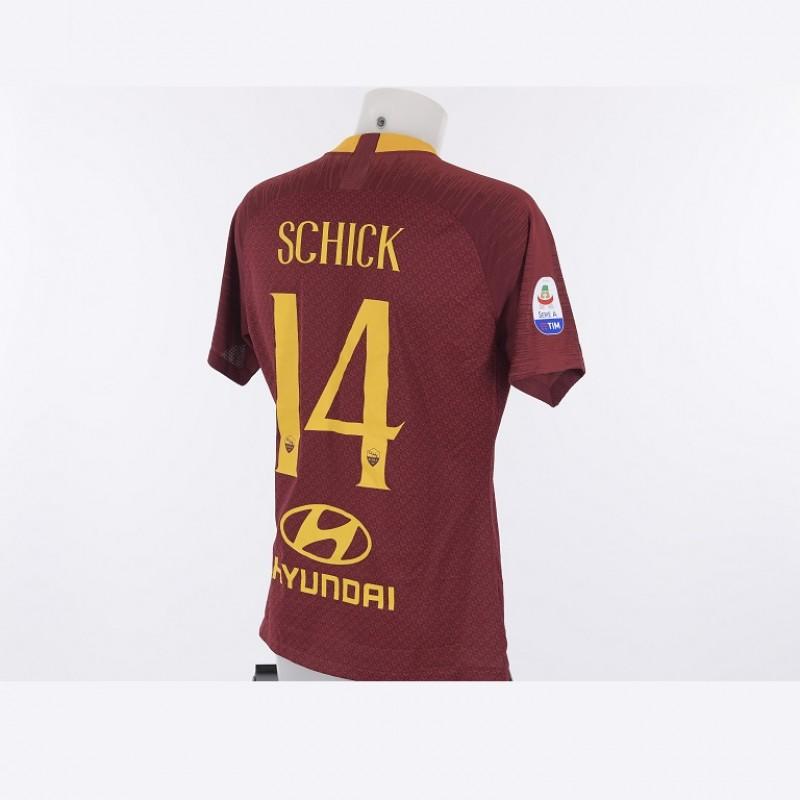 Schick's Match-Issue Roma-Atalanta 2018/19 Shirt