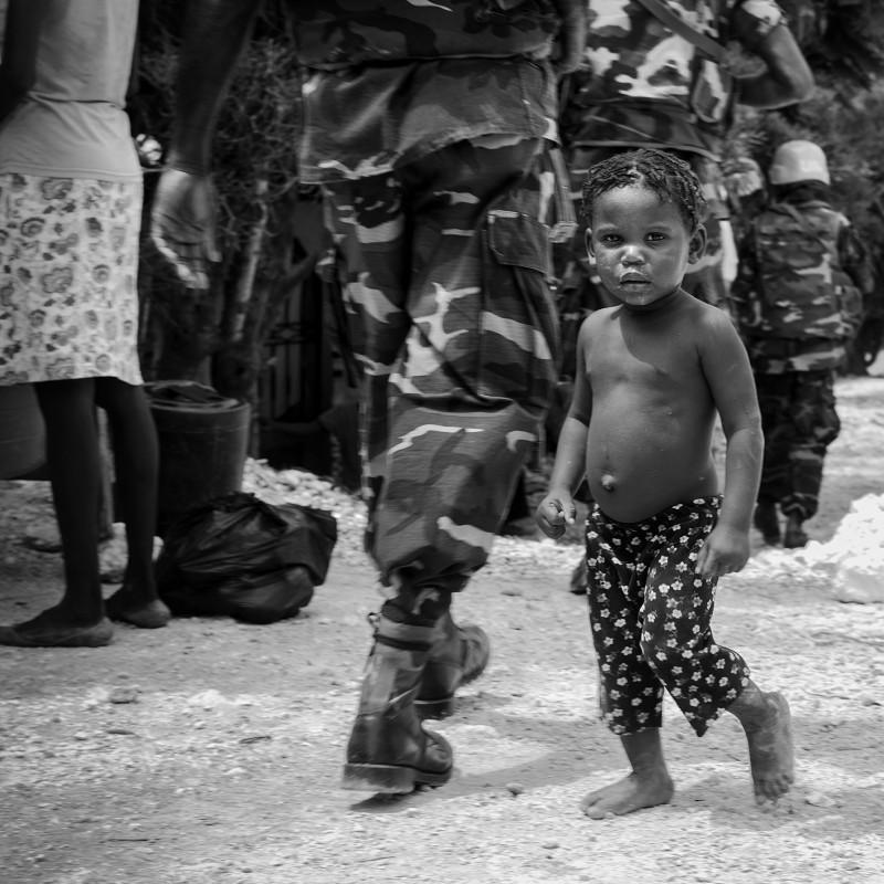 """Bambino Haiti"" by Stefano Guindani"