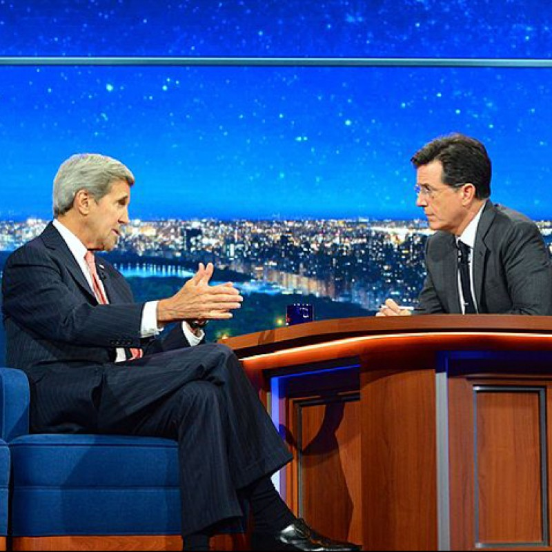 2 VIP Tickets to The Late Show with Stephen Colbert in NYC with Airfare, Hotel and Dinner