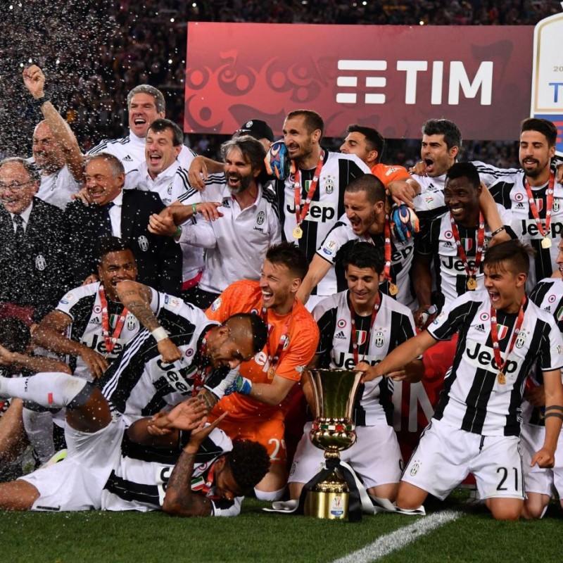 Mandzukic Match issued/worn Shirt, TIM Cup Final Juventus-Milan