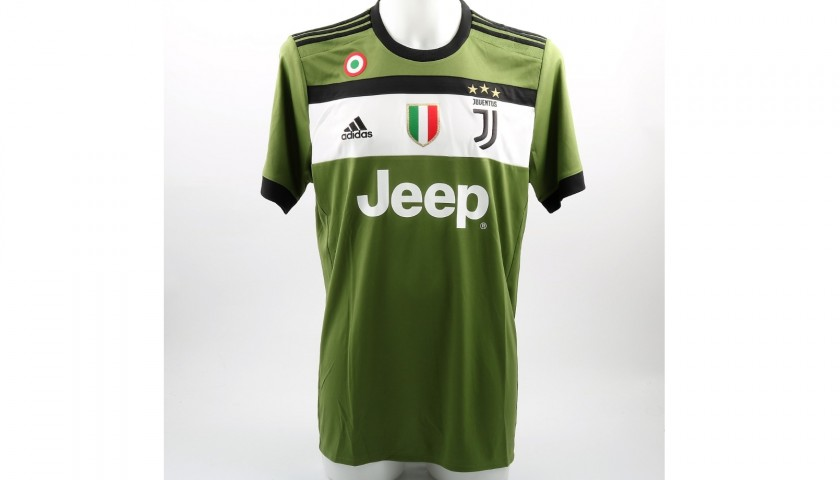99a08b89409 Higuain s Official Juventus 2017 18 Signed Shirt - CharityStars