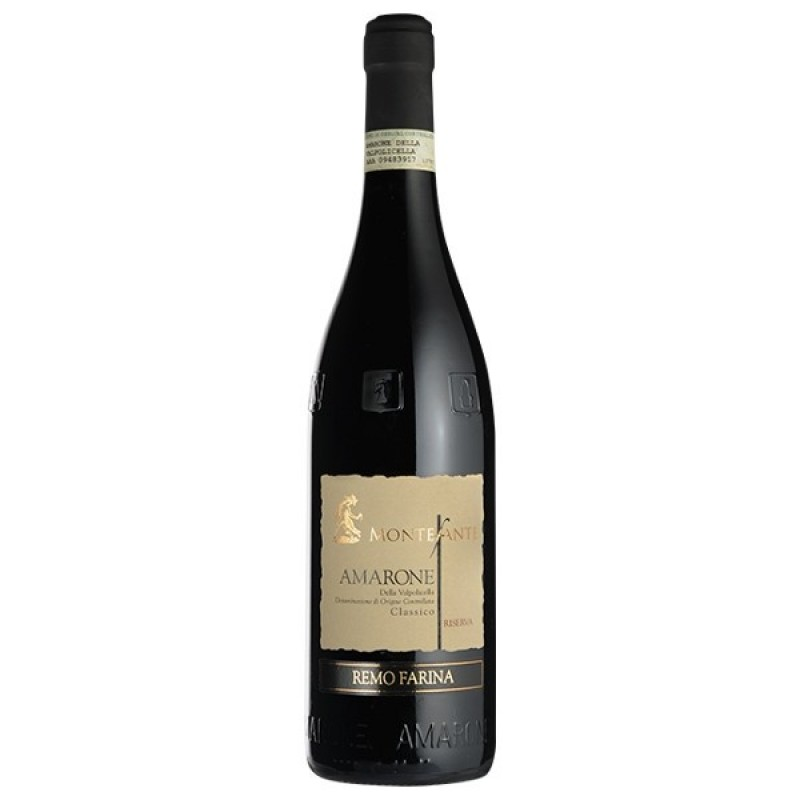 Montefante Amarone Riserva Wine, Remo Farina