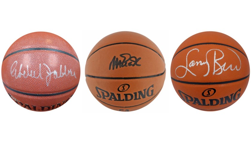Basketball Greats Mystery Box: Hand Signed Basketball