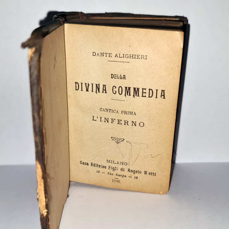 Dante Alighieri - 1902 Edition of The Divine Comedy