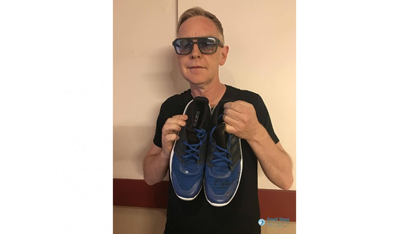 Andy Fletcher (Depeche Mode) Signed Shoes
