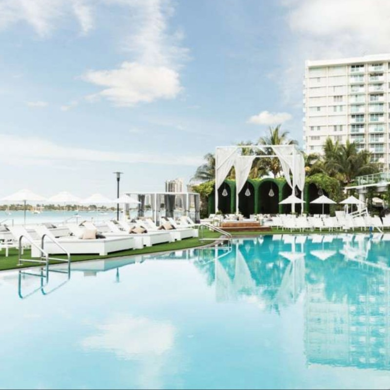 Boucher Brothers Package: Queen Day Bed Cabana  + Luxury Lounge Chairs + 1 Hour Jetski