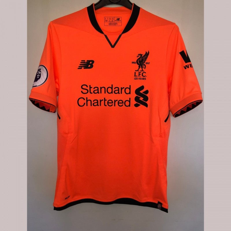 Mane's Liverpool Match Shirt, PL 2017/18
