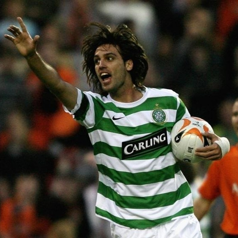 Samaras' Official Celtic Signed Shirt, 2007/08