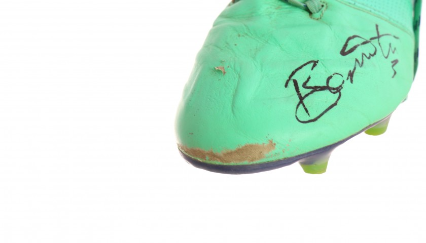 Adidas Boots Worn and Signed by Giacomo Bonaventura