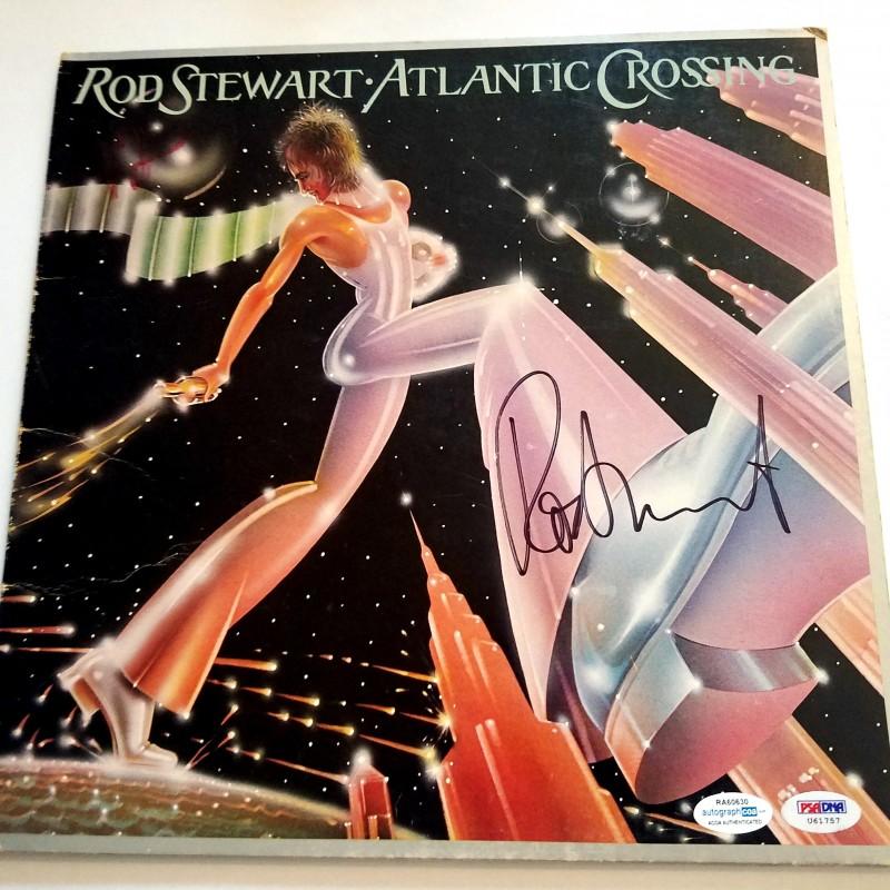 Rod Stewart Hand Signed Record Album