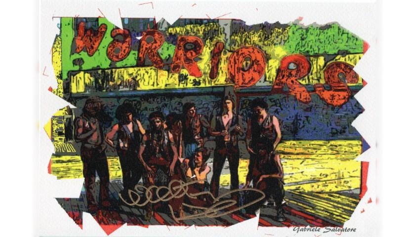 The Warriors - Walter Hill Signed Pop Artwork by Gabriele Salvatore