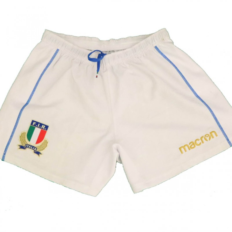 Polledri's Worn Rugby Shorts and Socks, Japan-Italy