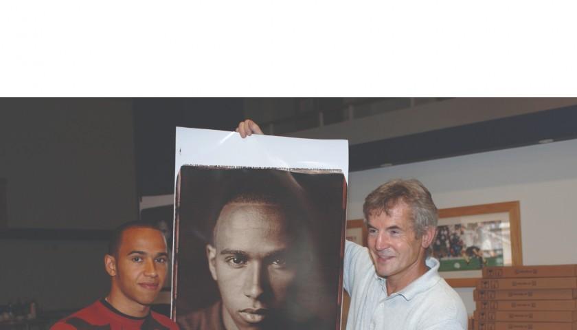 Lewis Hamilton Polaroid Signed Limited Edition
