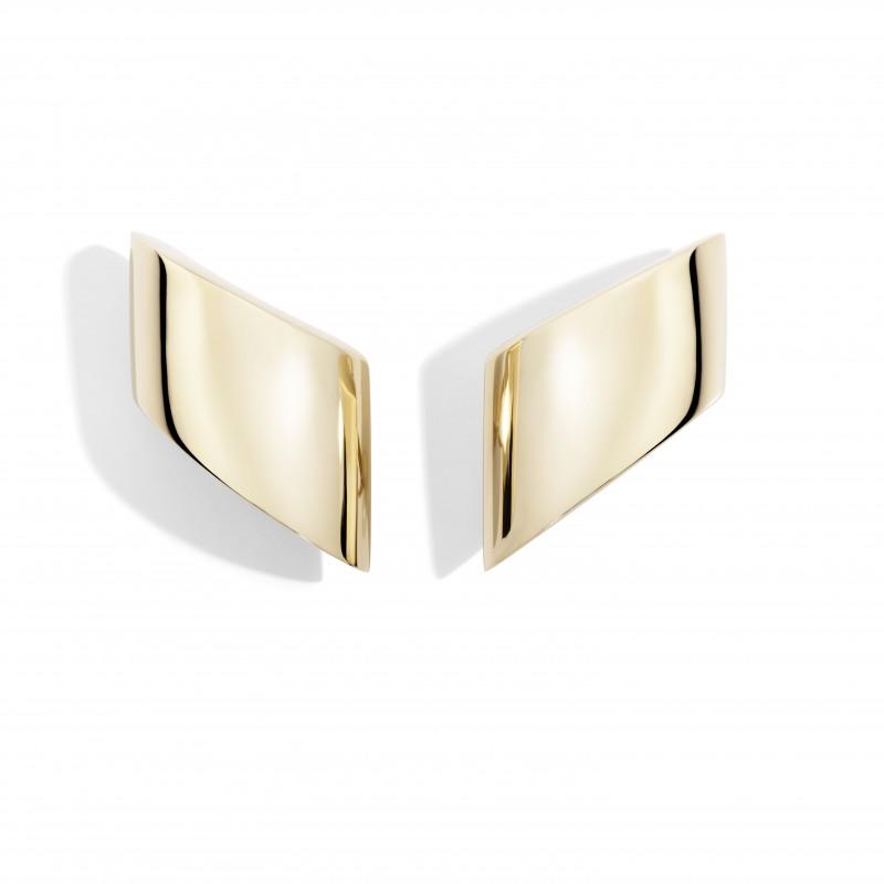 Vague Rose Gold Earrings by Vhernier
