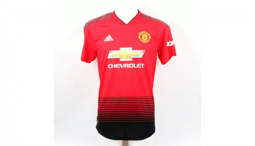 Rashford's Match Kit, Manchester United, PL 2018/19