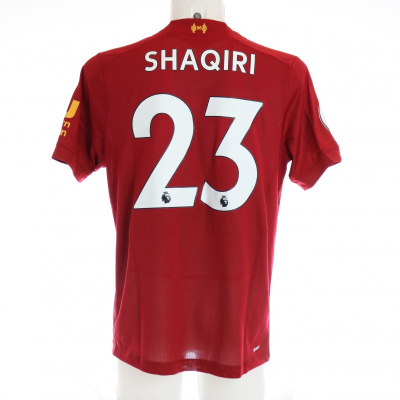 Shaqiri's Issued and Signed Limited Edition 19/20 Liverpool FC Shirt