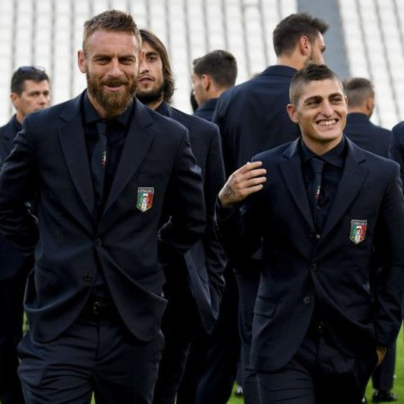Marco Verratti's Italy National Football Team Shirt by Ermanno Scervino