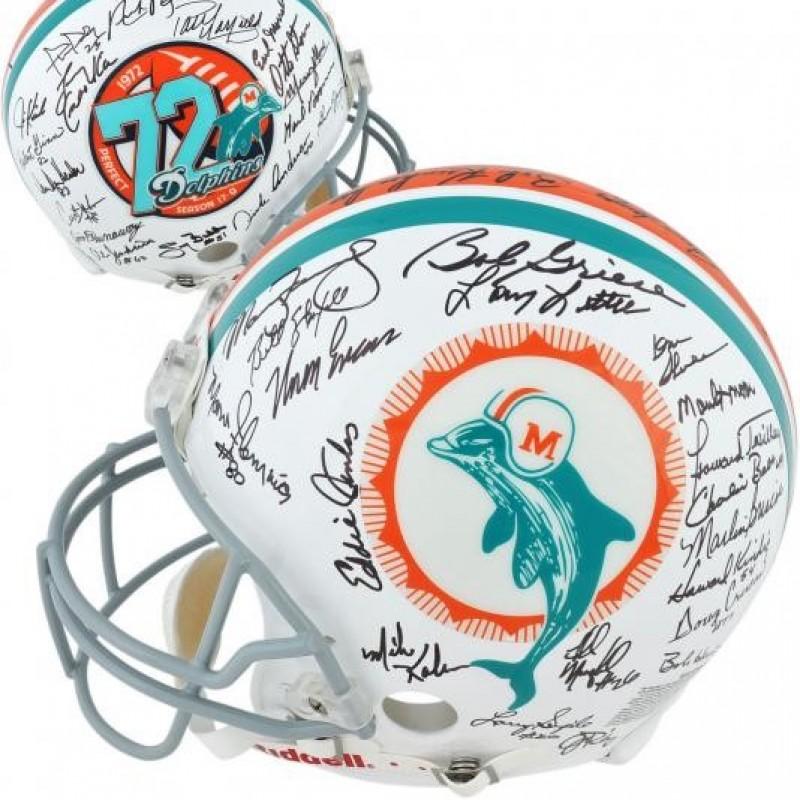 1972 Miami Dolphins 17-0 Undefeated Helmet