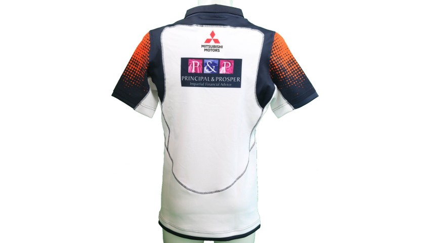 Edinburgh Rugby Shirt, 2018/19 - Signed by the Squad