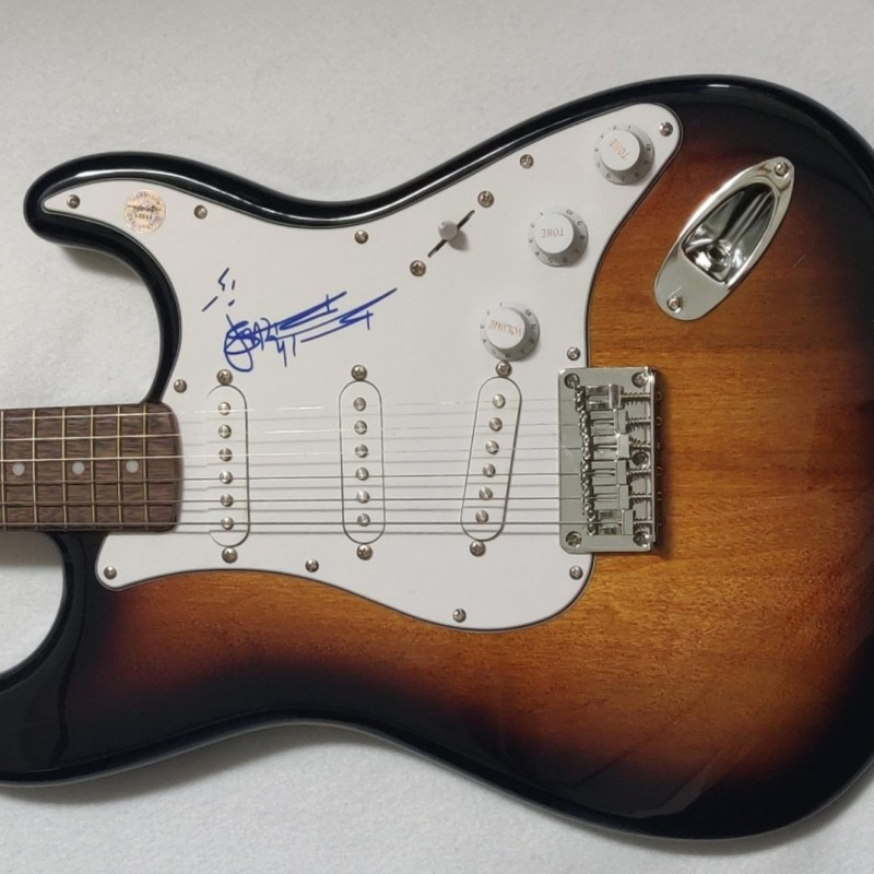 Keith Richards Autographed Fender Electric Guitar