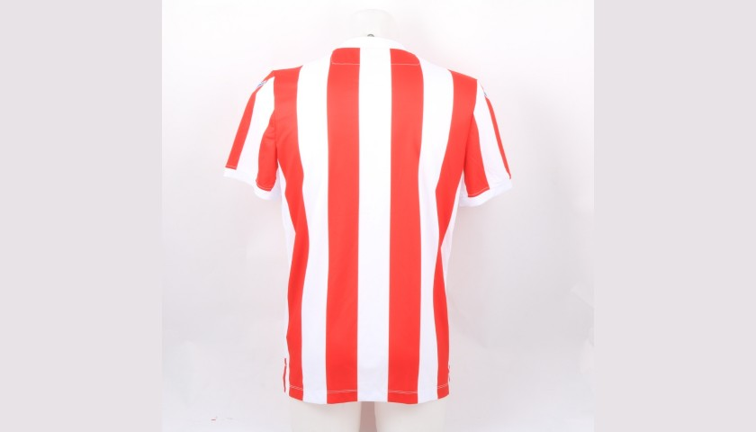 Stoke City Official Poppy Shirt Signed by the Team