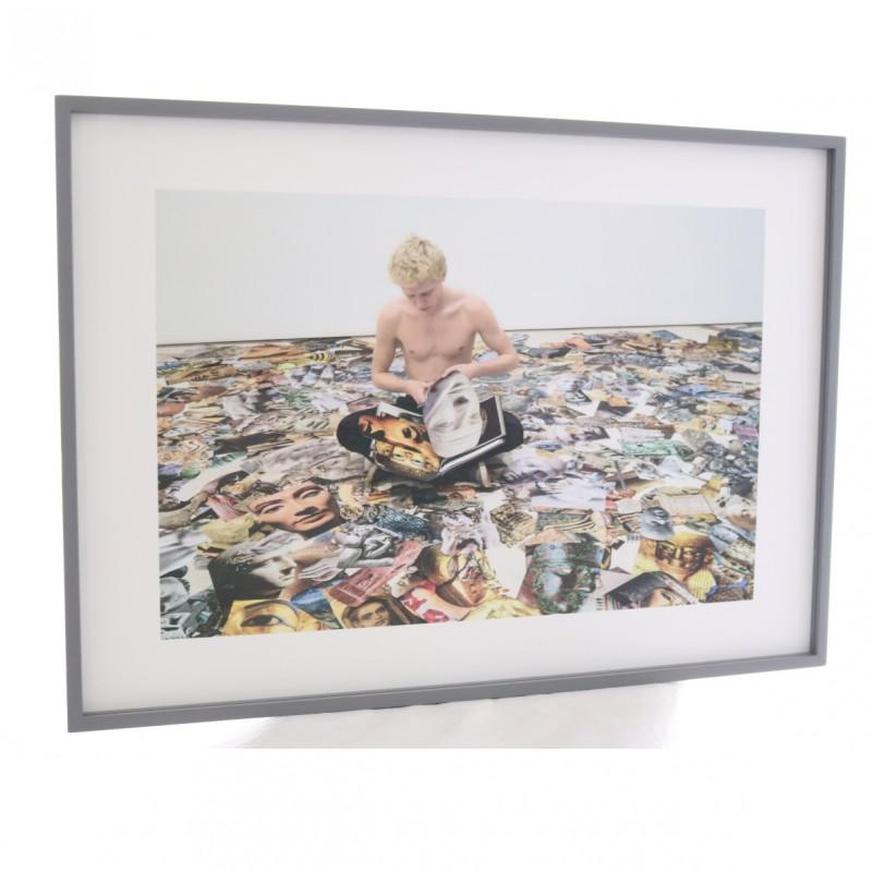 Marcello Maloberti Framed Print