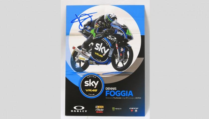 Foggia Signed Photograph, Moto3