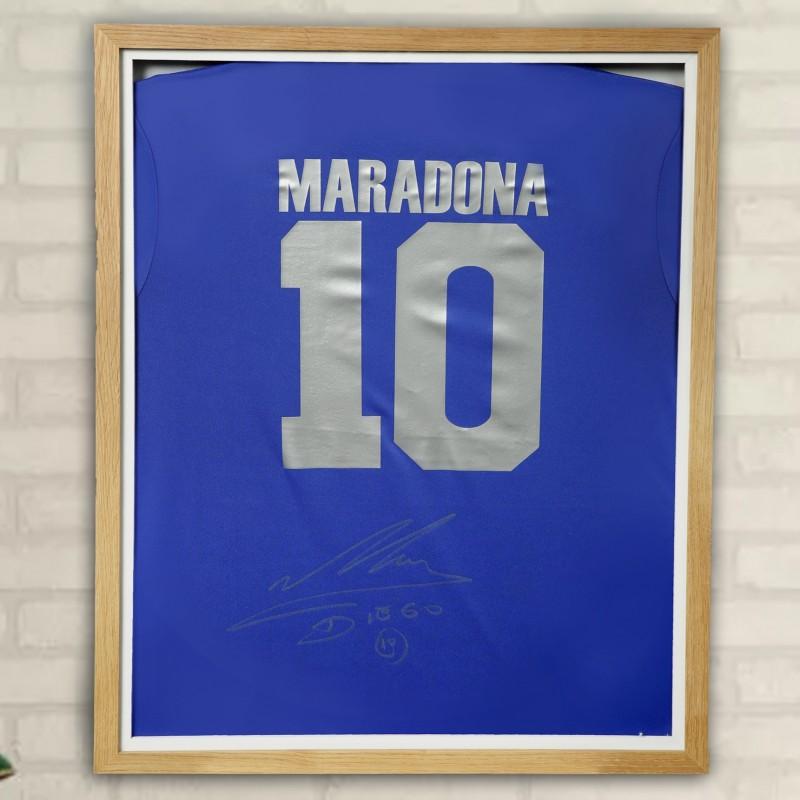 Maradona's Signed Shirt