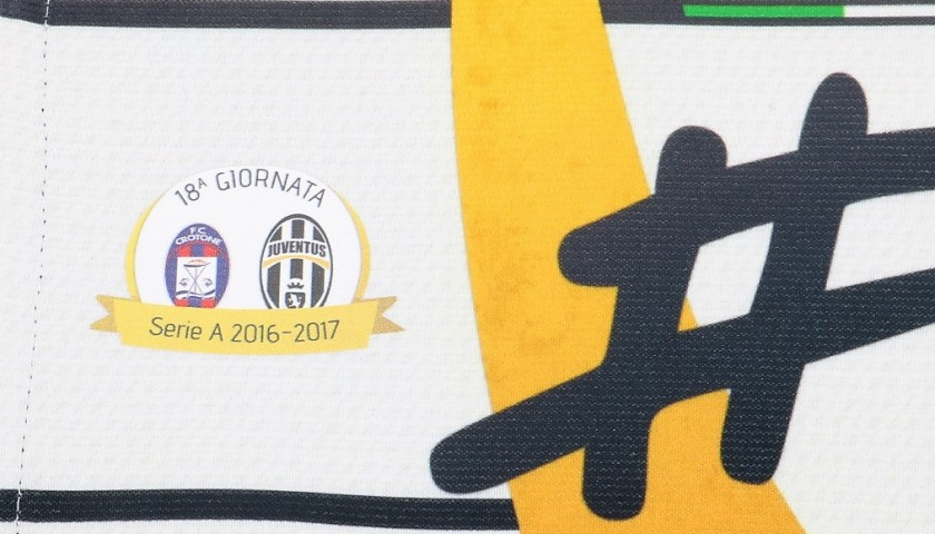 Buffon's Match-Issued Captain Armband, Crotone-Juventus 2016/17
