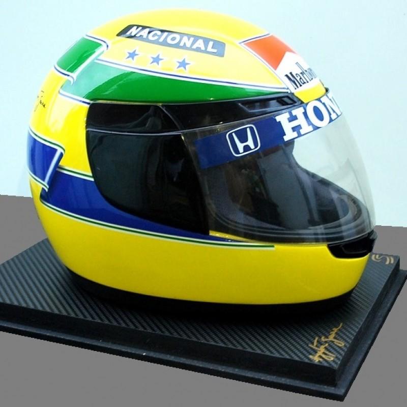 Ayrton Senna Official Replica Helmet