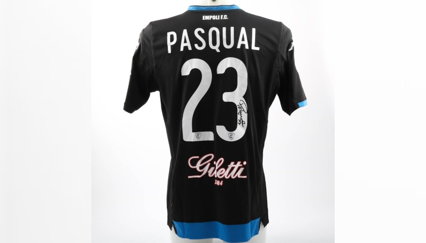 Pasqual's Worn Shirt with Special UNICEF Patch, Spal-Empoli