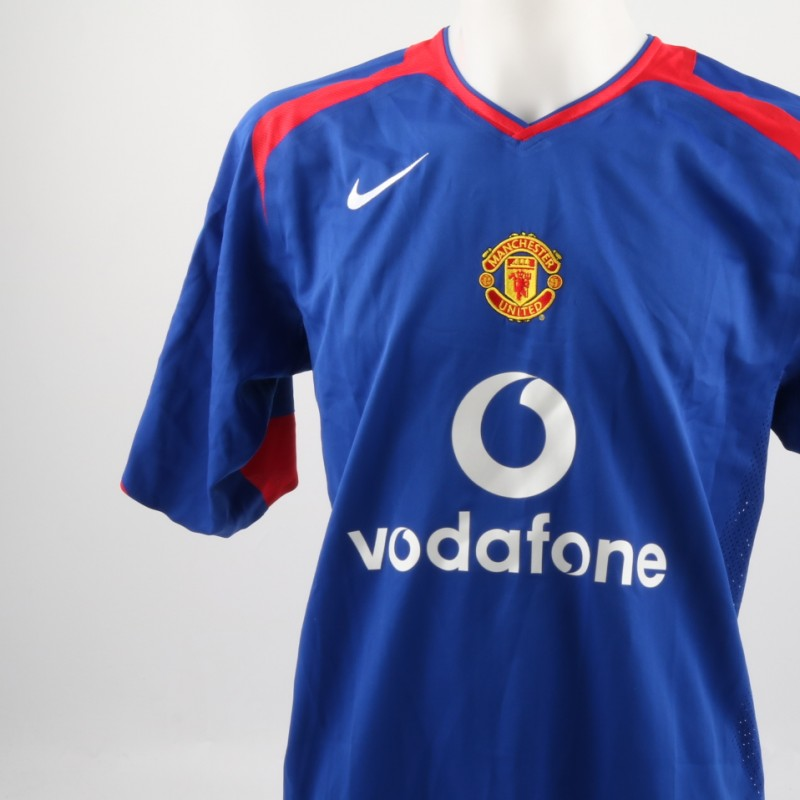Evra Manchester United shirt, issued/worn Premier League 05/06