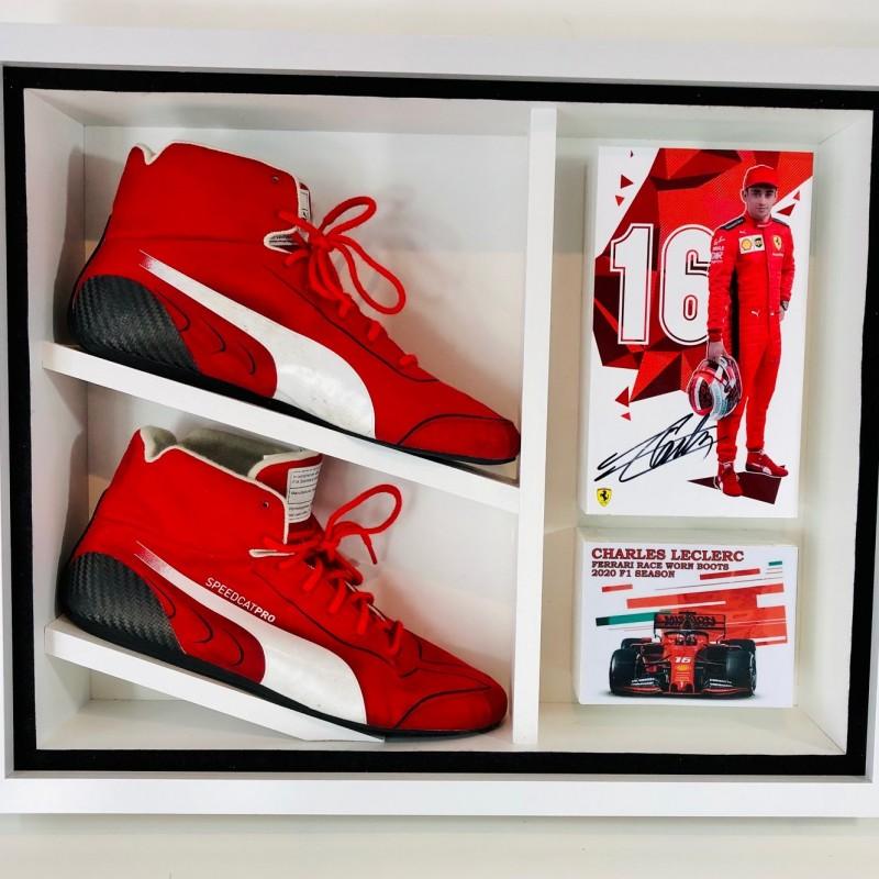 Charles Leclerc Ferrari Worn Boots