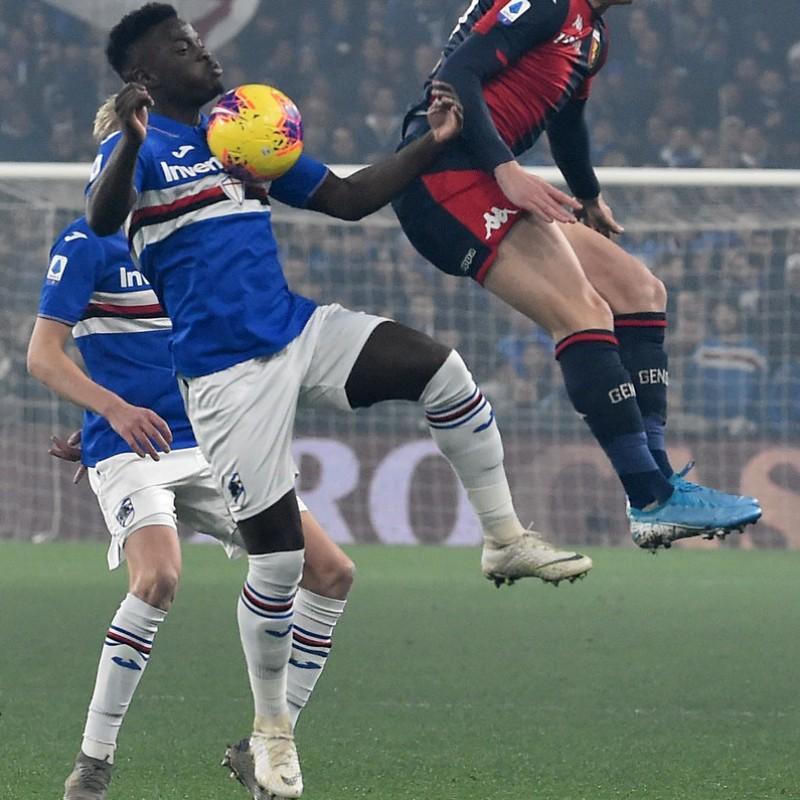 Vieira's Worn Shirt, Genoa-Sampdoria, Special Gaslini