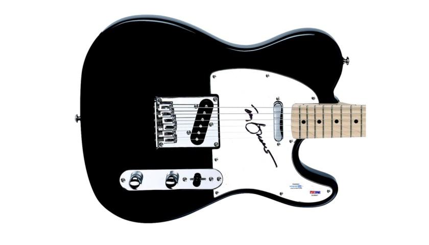 Tony Bennett Signed Guitar