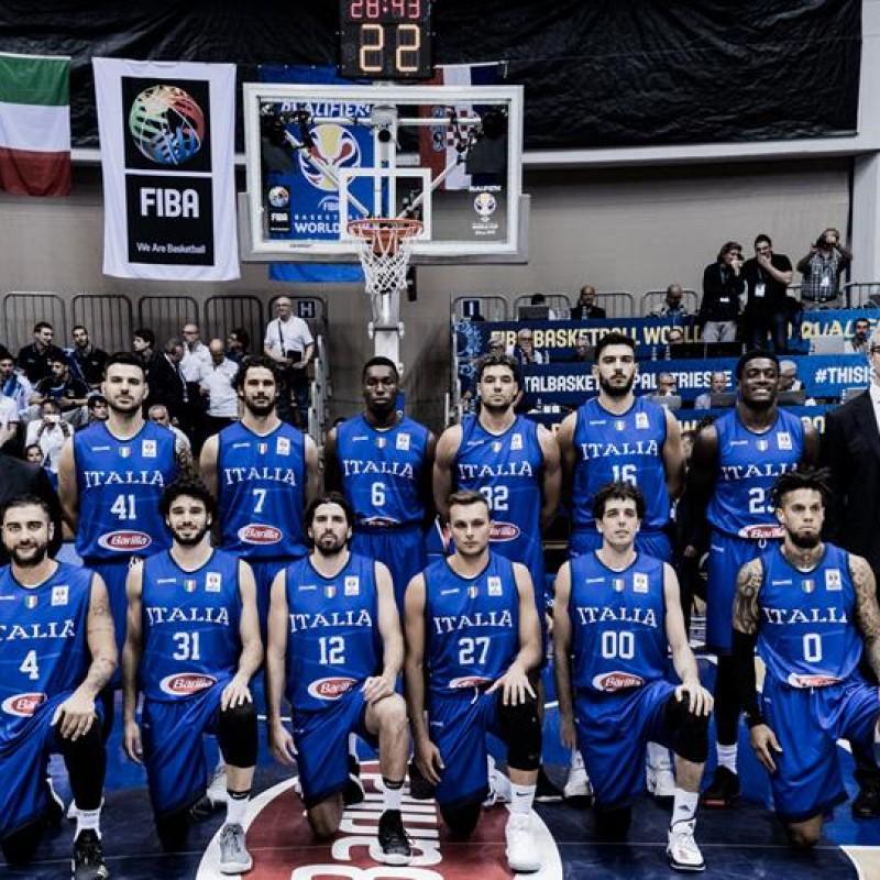 Maglia Ufficiale ItalBasket, 2019 - Autografata