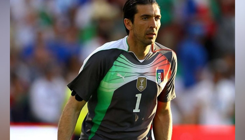 Buffon's Italy Match Shirt, 2010