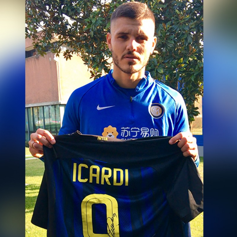 Official Icardi 2016/17 Inter Shirt, Signed
