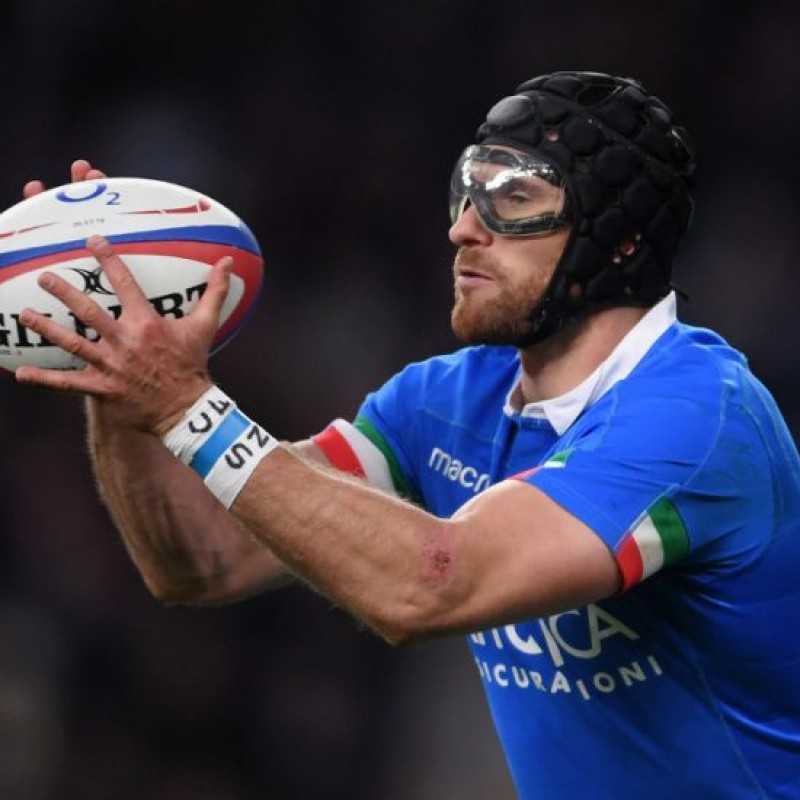 Ian McKinley's Worn and Signed Glasses, Italy-Wales Six Nations 2019
