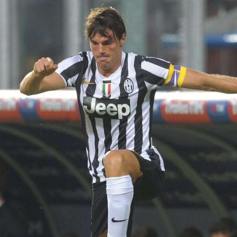 De Ceglie's Juventus Signed Match Shirt, 2013/14