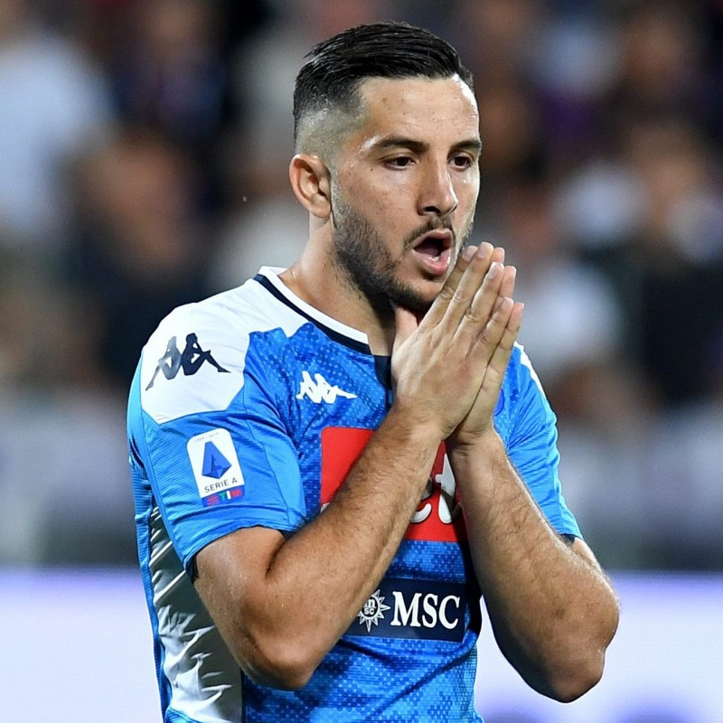 Manolas' Napoli Signed Match Shirt, 2019/20