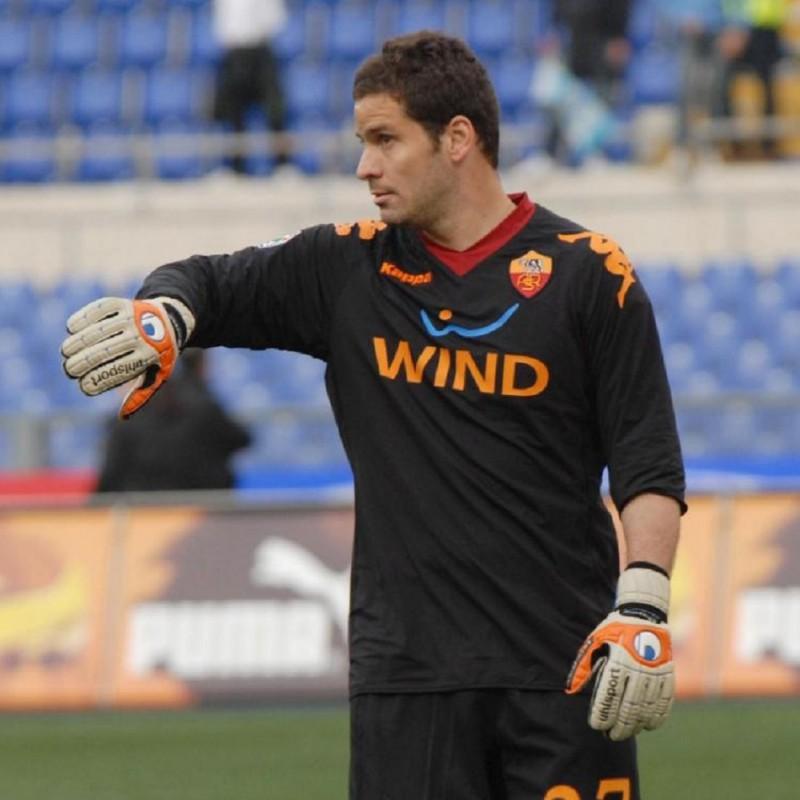 Maglia Júlio Sérgio, indossata Roma-Lazio 2009