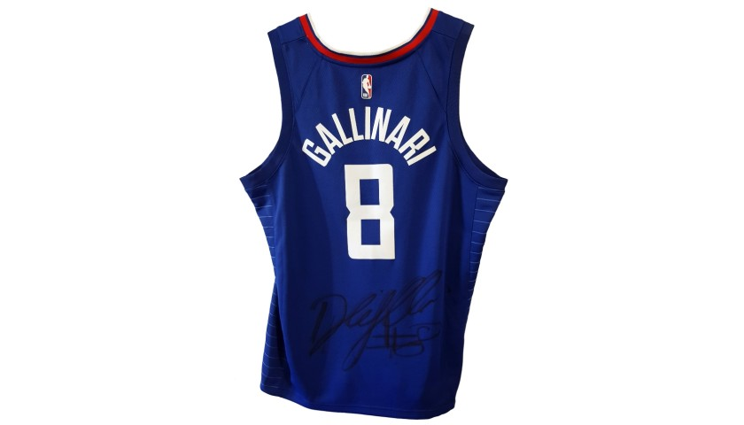 Gallinari's Official Clippers Signed Jersey, 2018/19