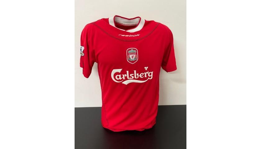 Gerrard's Liverpool Match Shirt, 2002/03