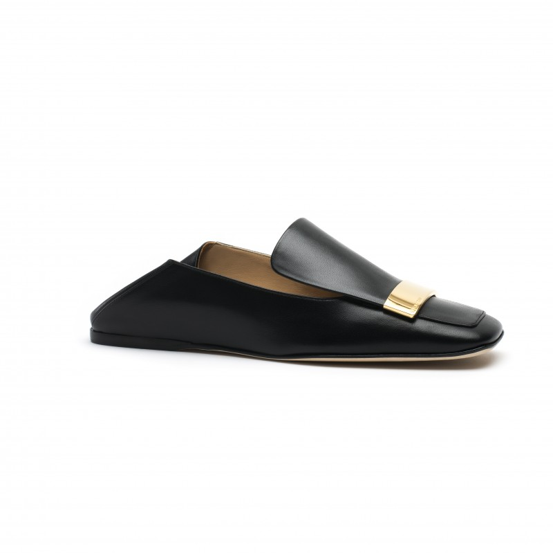 Sergio Rossi Leather Slippers