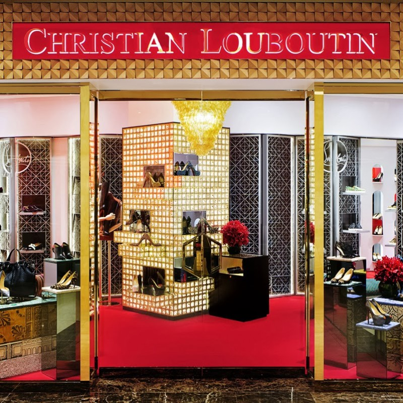 Choose a Pair of Shoes in a Private Christian Louboutin Shopping Experience